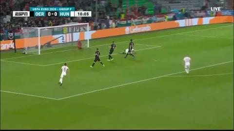 Alemania 2-2 Hungría (Eurocopa)