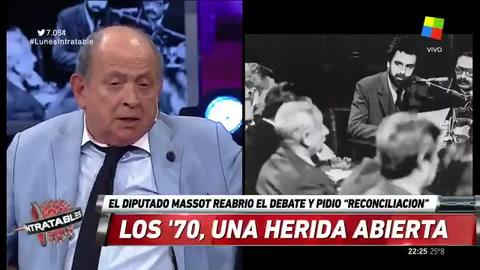 Fuerte debate sobre la reconciliación de los 70 que pidió Massot