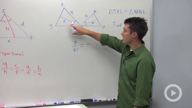 Corresponding Parts of Similar Triangles - Problem 1