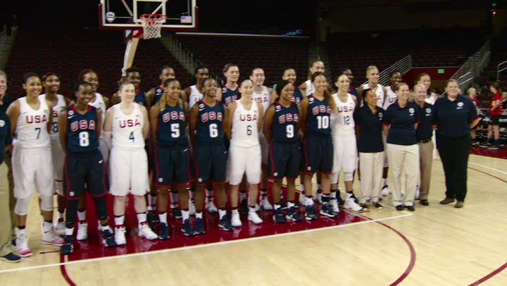 Highlights of USA Women's National Team's 88-84 Win Over USA Select Team