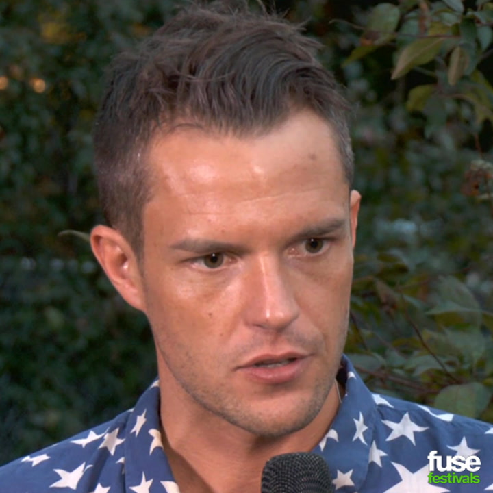 "Brandon Flowers is Proud The Killers Are ""Accused of Being Over the Top"" at Lollapalooza"