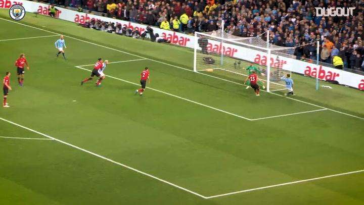 Man City make a statement in Manchester Derby