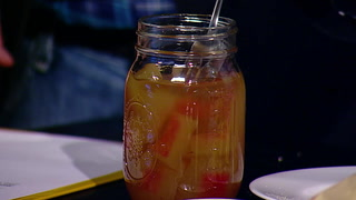 Pat and Stu try pickled watermelon rinds on a homemade edition of 'Spoons'