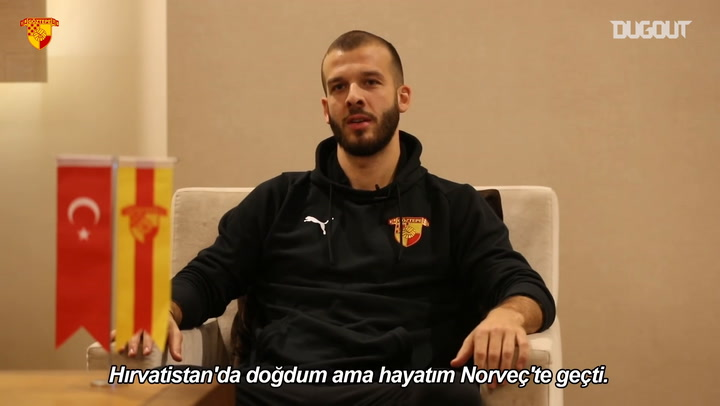 Göztepe'nin Yeni Transferi Zlatko Tripic Konuştu