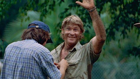 Steve Irwin Given a  Hollywood Star
