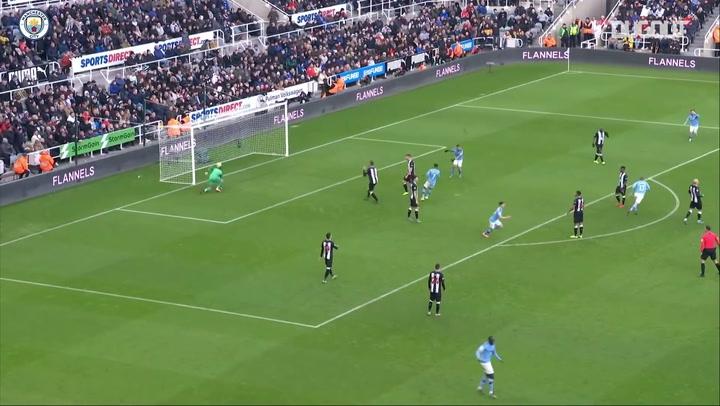 أهداف لا تصدق: كيفين دي بروين أمام نيوكاسل يونايتد