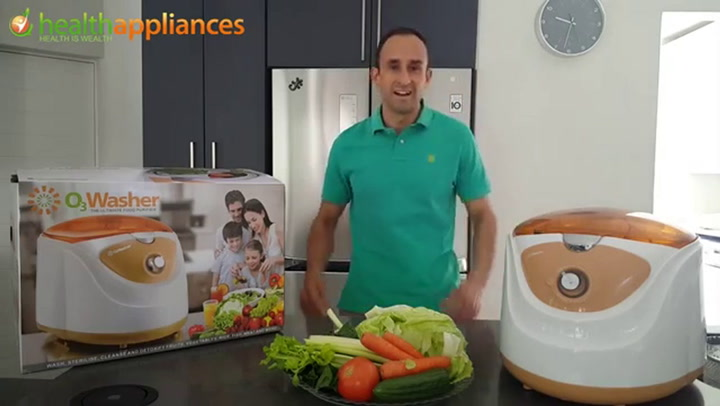 Preview image of O3 Washer Fruit & Vegetable Washer video