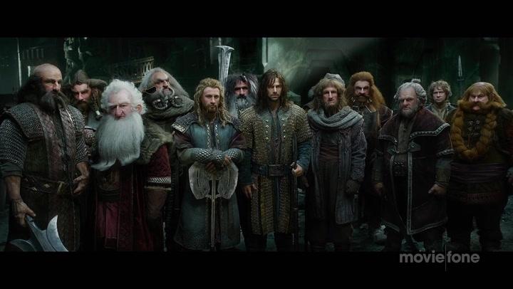 The Hobbit: The Battle of the Five Armies - Trailer No. 1