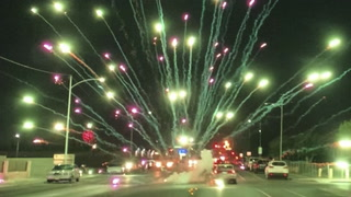 Illegal fireworks light up Las Vegas on July 4th