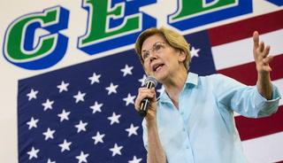 Sen. Elizabeth Warren in Las Vegas