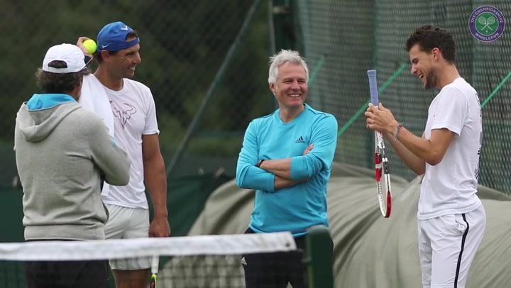 Rafael Nadal y el resto de tenistas, preparados para el Wimbledon 2019