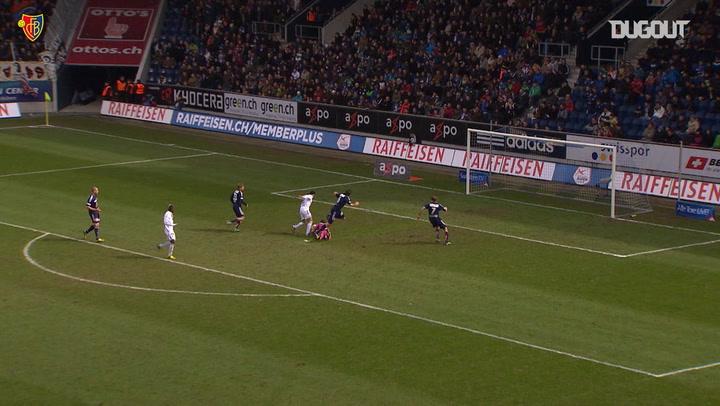 Nobody could stop Mo Salah at Basel!