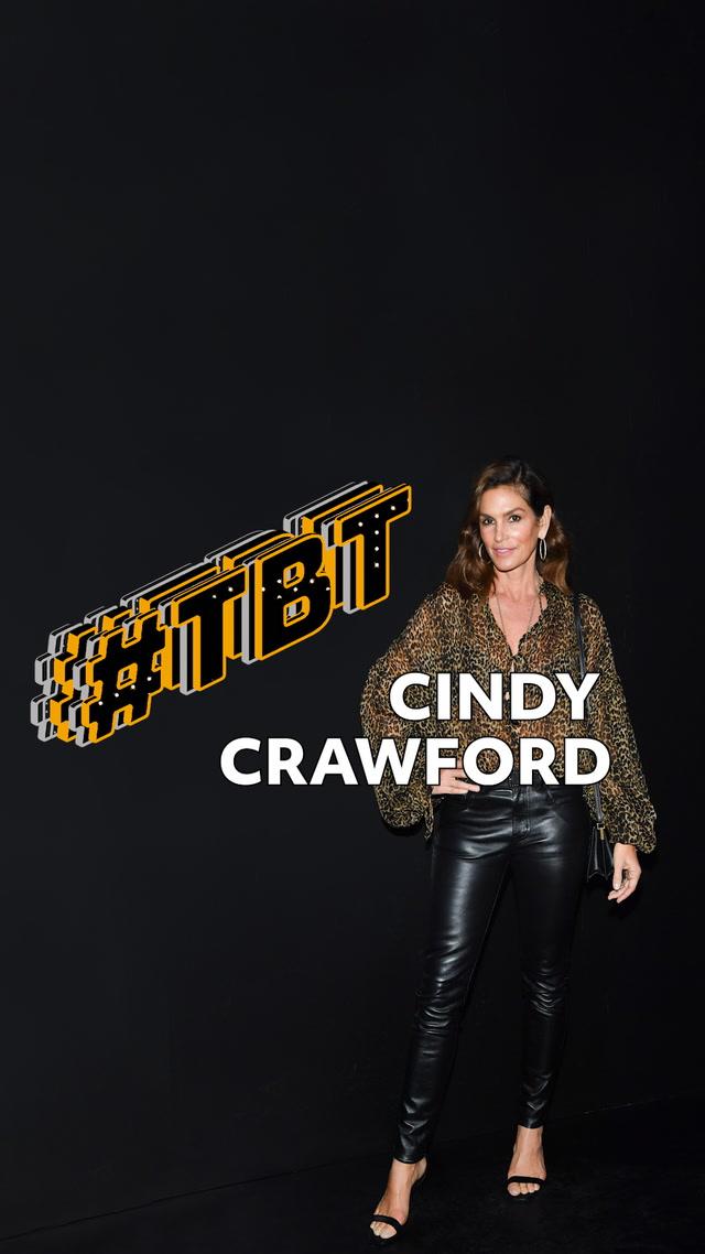 #tbt Moda - Cindy Crawford