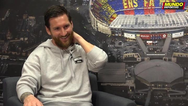 Messi elogia a Lautaro