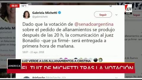 Bonadio recibió la notificación del Senado y prepara allanamientos a Cristina