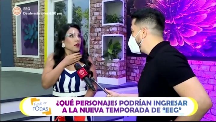 """Tula Rodríguez confunde a Vania Bludau con Ivana Yturbe y se retracta: """"No he querido decir eso, ella va ser la señora Da Silva"""""""