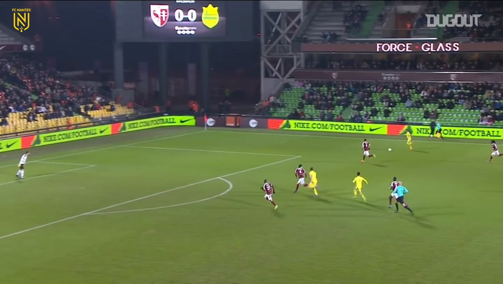 Valentin Rongier's team goals vs Metz