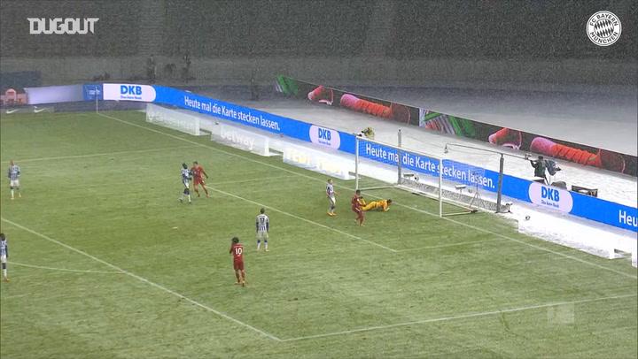 Coman's winner vs Hertha Berlin