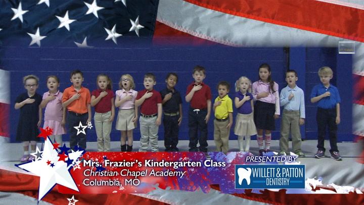 Christian Chapel Academy - Mrs. Frazier's K-5 Class