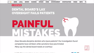 A 5 month investigation into the Nevada State Board of Dental Examiners – VIDEO