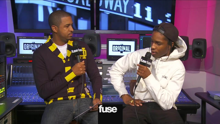 "A$AP Rocky Talks ""1 Train"" Collabos"