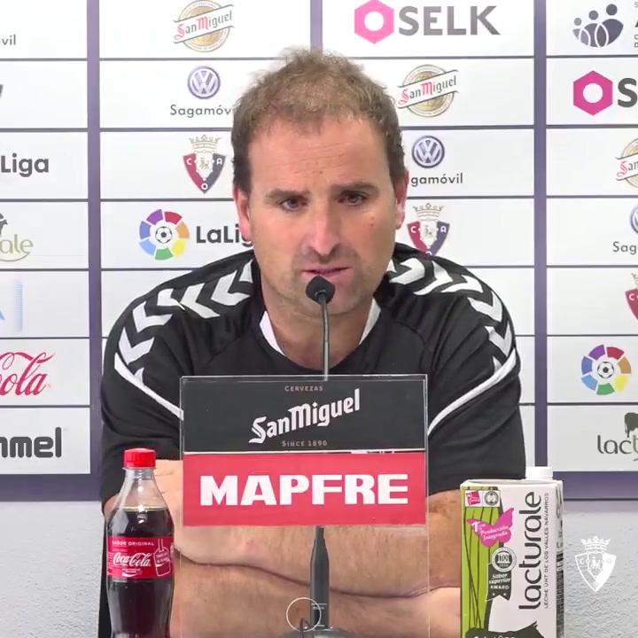 "Jagoba Arrasate: ""Necesitamos estar al 100 % frente al Mallorca"""