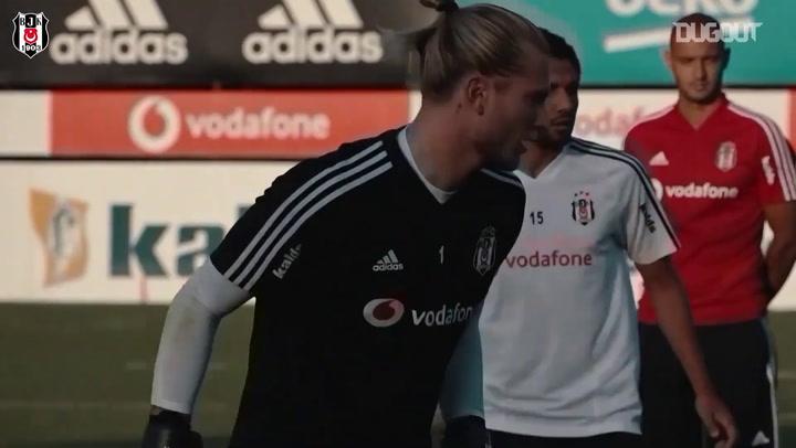 Le premier entrainement de Mohamed Elneny avec Besiktas
