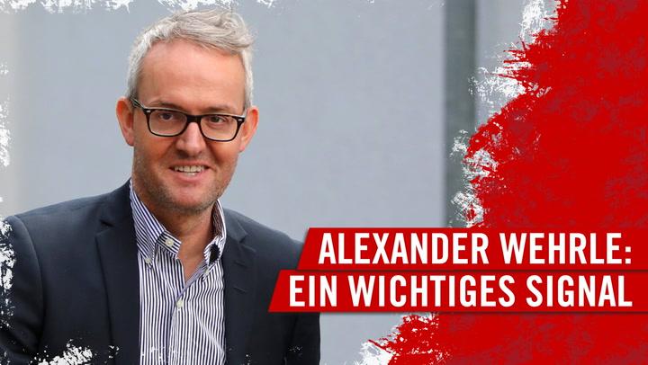 Alexander Wehrle: Ein wichtiges Signal