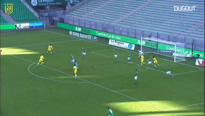 Mehdi Abeid's stunning goal vs Saint-Etienne