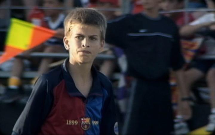 Piqué recuerda al niño del Real Madrid que les volvió locos en Brunete