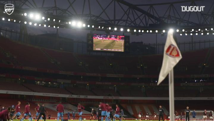 Arsenal'in West Ham Galibiyetinin Perde Arkası