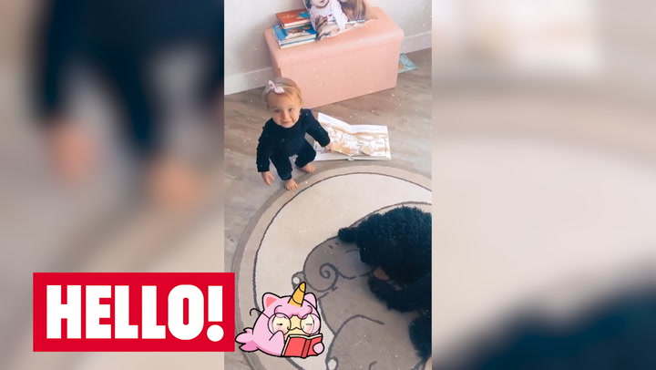 Gemma Atkinson shares sweet photo tribute to daughter Mia and Gorka Marquez