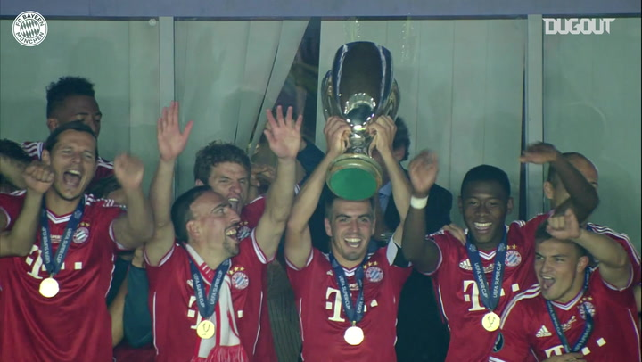 Bayern lift 2013 UEFA Super Cup vs Chelsea
