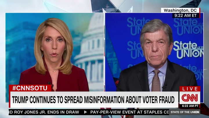 Sen. Blunt on 2020 Presidential Election: 'I Don't Think It Was Rigged'