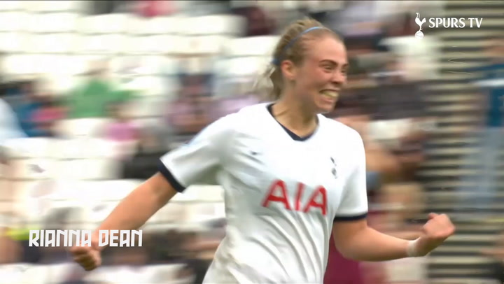 Tottenham's best WSL goals of 2019-20