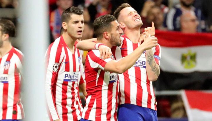 Champions League: Atlético-Liverpool. Gol de Saúl (1-0)