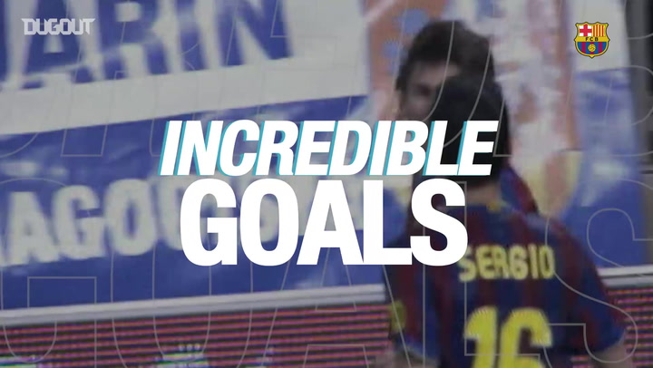 Incredible Goals: Leo Messi Vs Real Zaragoza