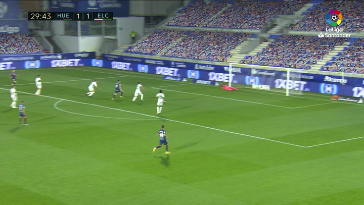 Gol de Sandro (2-1) en el Huesca 3-1 Elche