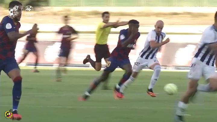 Ilaix Moriba's great performance vs Real Valladolid B