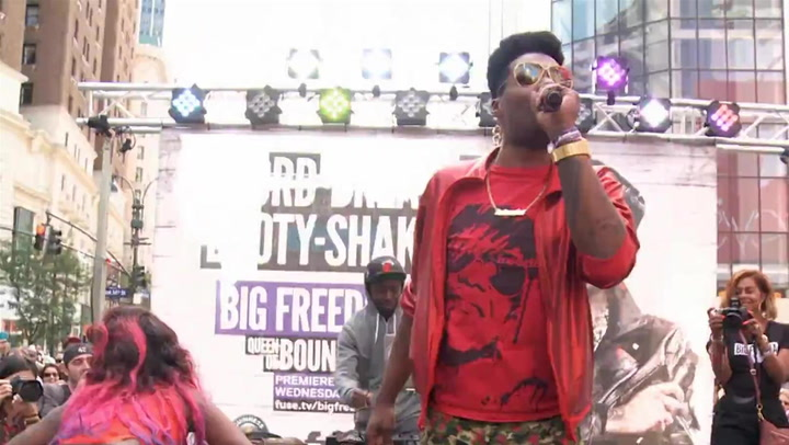 Big Freedia Unleashes Excuse in NYC's Herald Square