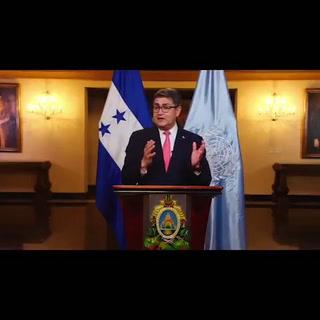 El mensaje del presidente Hernández en el 75 aniversario de la ONU