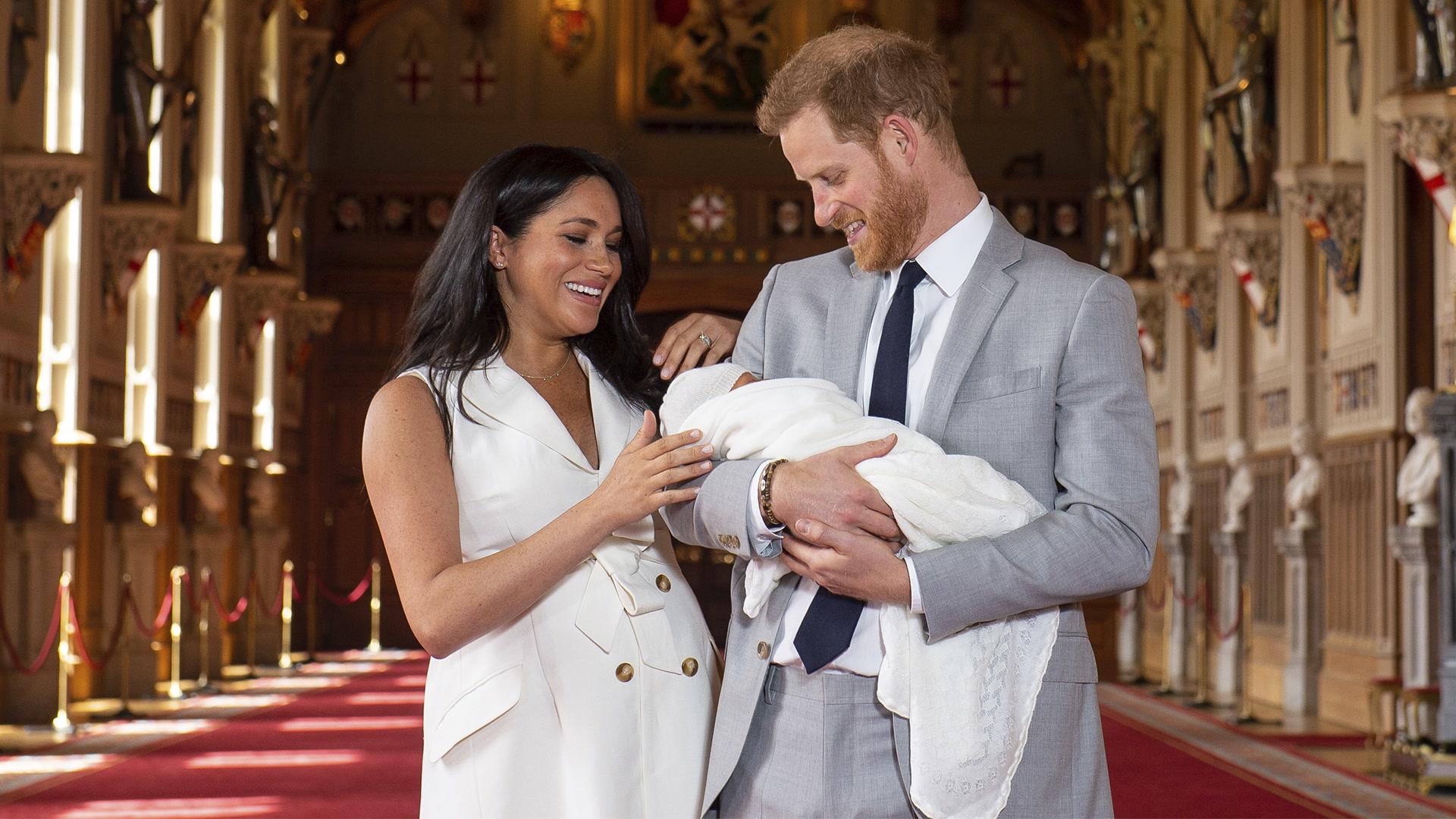 Harry, Meghan y Archie: Ahora somos tres