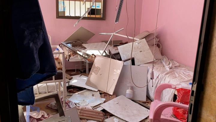 Syrian hospital destroyed in deadly rocket attack