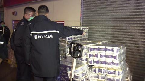 Robo a mano armada de papel higiénico en Hong Kong por nuevo coronavirus