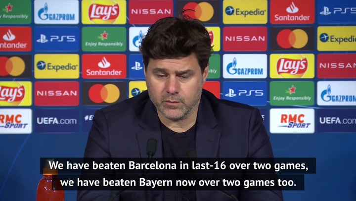 PSG not Champions League favourites - Pochettino on knocking out Bayern