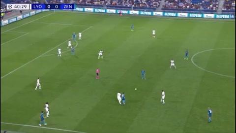 Iraní del Zenit anota el primer gol en la fase de grupos de la Champions League