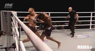 El brutal nocaut que casi termina en desgracia en las artes marciales mixtas