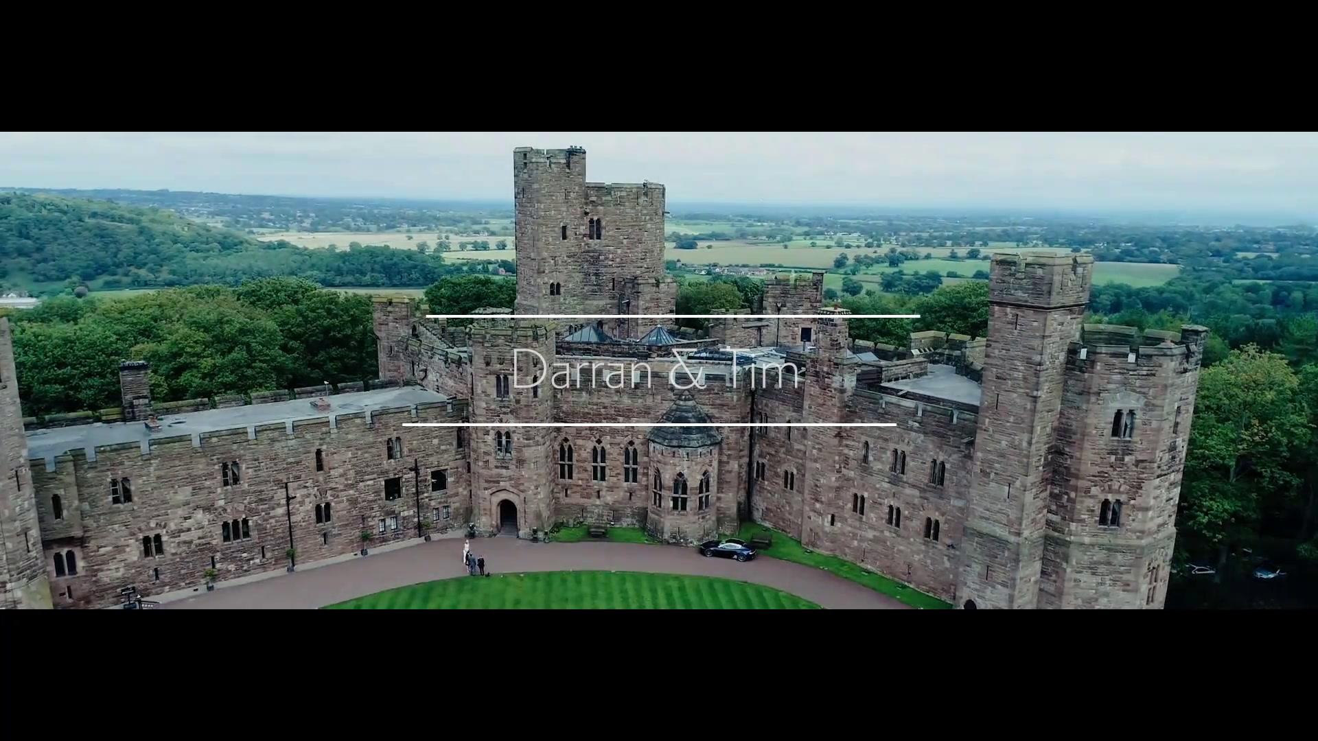 Darran + Tim | Tarporley, United Kingdom | Peckforton Castle