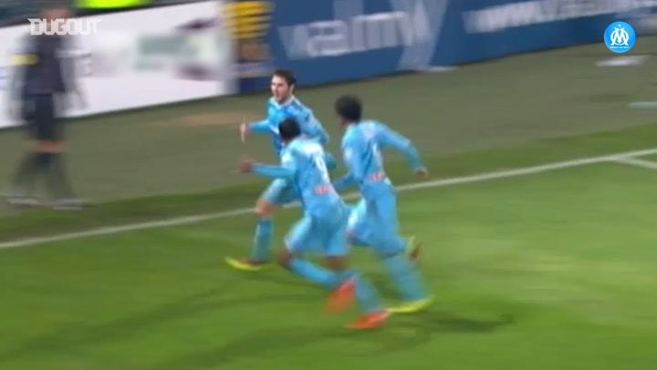 Gignac's stunning curling vs Auxerre