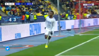 Con gran actuación de Vinicius, Real Madrid golea 5-0 al Shakhtar